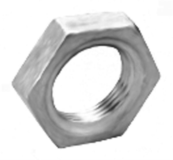 SS210 Hexagon Head Lock Nut Stainless Steel Pipe Fitting