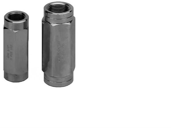Hydraulic Ball & Poppet Type Inline Check Valves