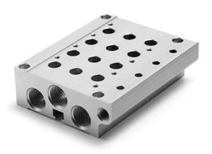 Series EN Base for Use With Sub-Base Mounted Valves