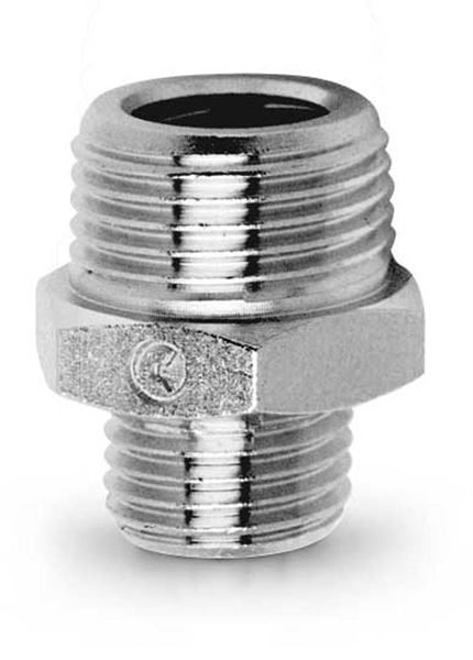 2511 Reducing Nipple - Parallel Brass Pipe Fitting