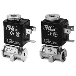 Series A Direct Operated Solenoid Valves - Threaded Body