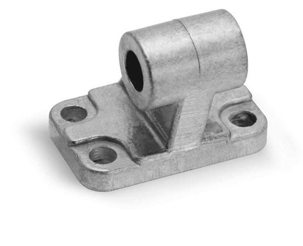 90° Swivel Trunnion combination Mod. ZC for Series 31, 32, 60, 61 & 63 Cylinder. Pneumatic Cylinder Mounting Accessory.