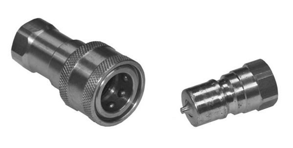 PBVM Brass - Hydraulic Quick Release Couplings