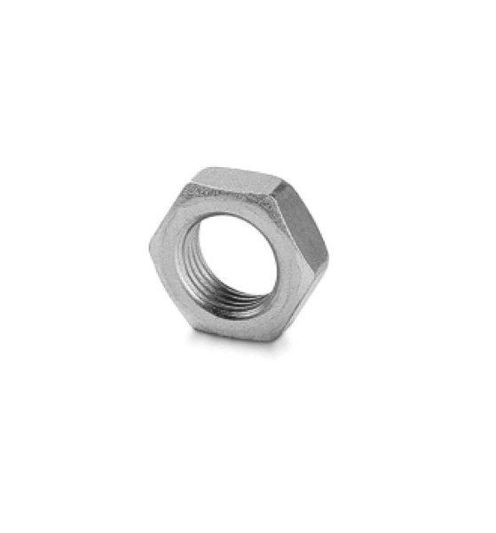 1593 Hexagon Locking Nut - Metric Push On Fitting
