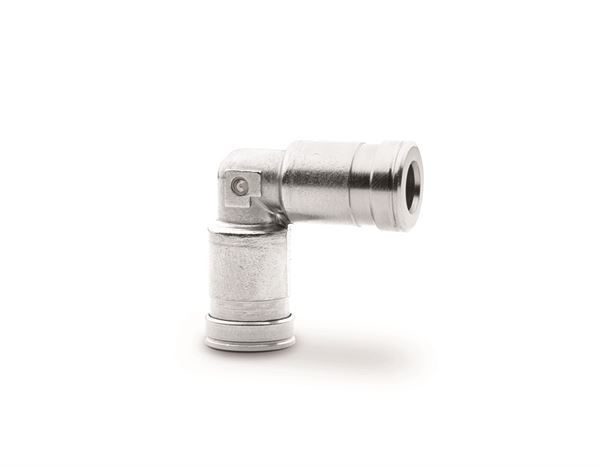 H8550 Elbow Connector Dual Seal Fitting