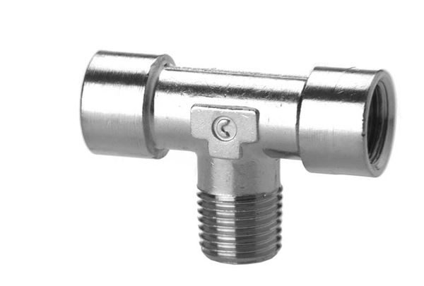 2060 Male Branch Tee - Taper Brass Pipe Fitting