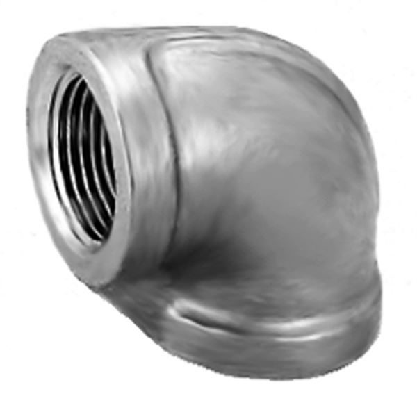 SS100 90 Degree Equal Elbow Stainless Steel Pipe Fitting