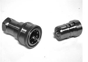 PBVX Stainless Steel - Hydraulic Quick Release Couplings