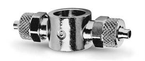 1620 Double Banjo Ring Connector Push On Fitting