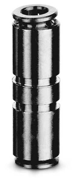 6580 Tube To Tube Connector (Micro) Push In Fitting