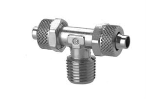 1410 Fixed Branch Tee - Taper Push On Fitting