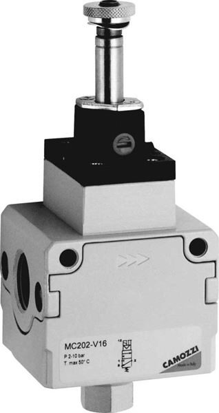 Series MC 3/2 Valve Pneumatically or Electropneumatically Operated