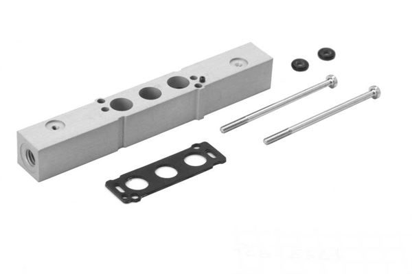 Series E Intermediate Plate for Valves with Separate Supply in 3 and 5