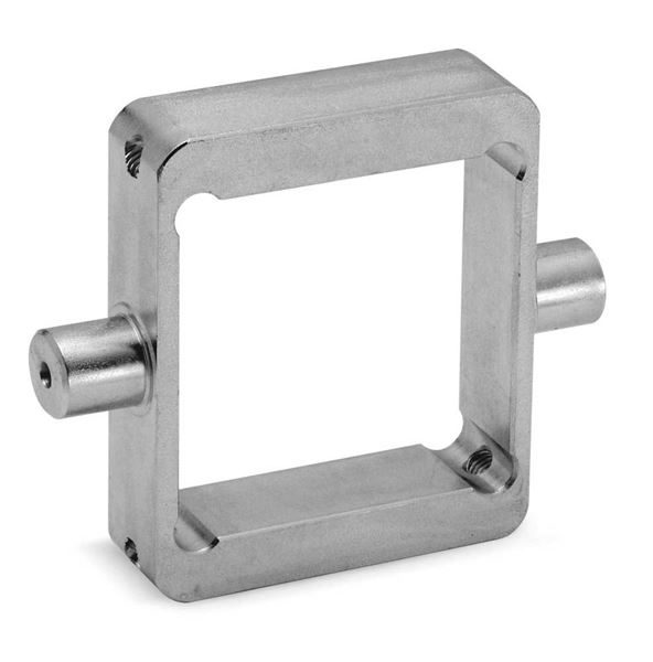 Centre Trunnion Mod. F for Series 61 Cylinder  For Industrial Automation. Pneumatic Cylinder Mounting Accessory.
