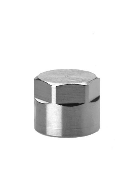 2613 Blanking Nut - Parallel Brass Pipe Fitting