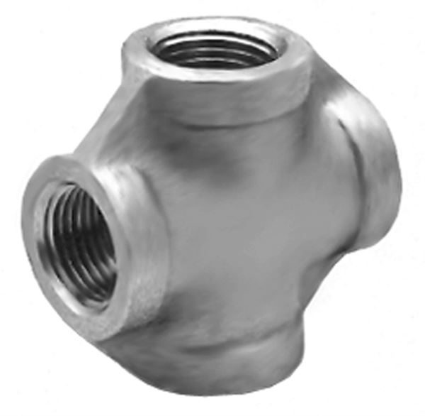 SS120 Equal Cross Stainless Steel Pipe Fitting