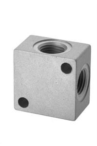 Aluminium Distribution Block