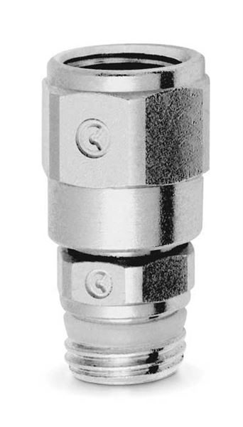 2541 Swivel Adaptor Brass Pipe Fitting
