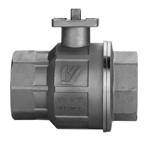 Stainless Steel Ball Valves - With ISO Pad