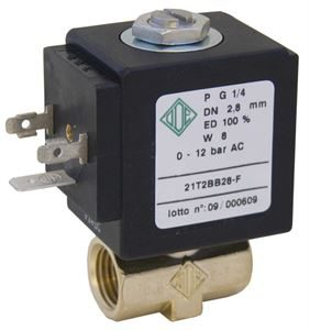 Direct Acting Industrial Solenoid Valves 2/2 NC