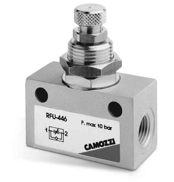 Series RFU & RFO In Line Flow Control Valves