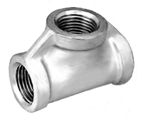 SS110 Equal Tee Stainless Steel Pipe Fitting
