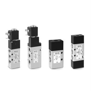 Series 3 and 4 Pneumatic Solenoid Valves, Pilot Valves and Accessories