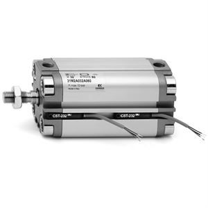 Series 31 Compact Magnetic Pneumatic Cylinders  - Male and Female Rod