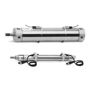 Series 27 Roundline Pneumatic Cylinders and Accessories for industrial automation solutions.