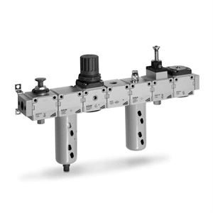 Modular FRL Units - Series MC for Pneumatic Systems