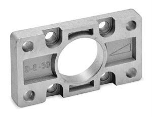 Front/Rear Flange Mounts for Pneumatic ISO 6432 Mini-Cylinders