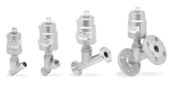 Series ASX Angle Seat Valves (Under The Seat Flow Direction)