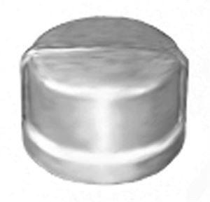 SS180 Round Blanking Cap Stainless Steel Pipe Fitting
