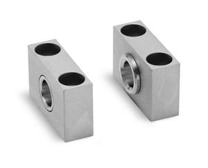 Counter Bracket for Centre Trunnion Mod. BF for Series 40 & 41 Cylinders. Pneumatic Cylinder Mounting Accessory.