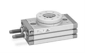 Series QR Rotary Actuators with Rack and Pinion System