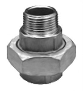SS260 Hexagon Union 2 Piece Stainless Steel Pipe Fitting
