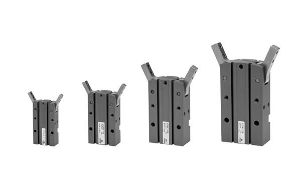 Series CGSY Radial Grippers with 180 Degree Opening