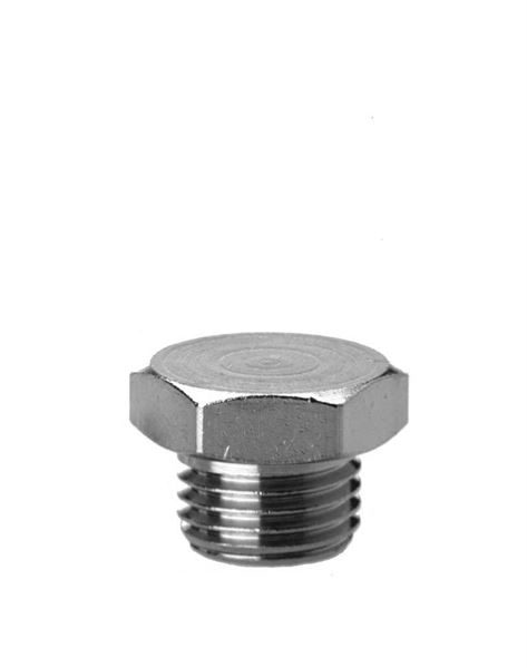 2611 Blanking Plug - Parallel Brass Pipe Fitting