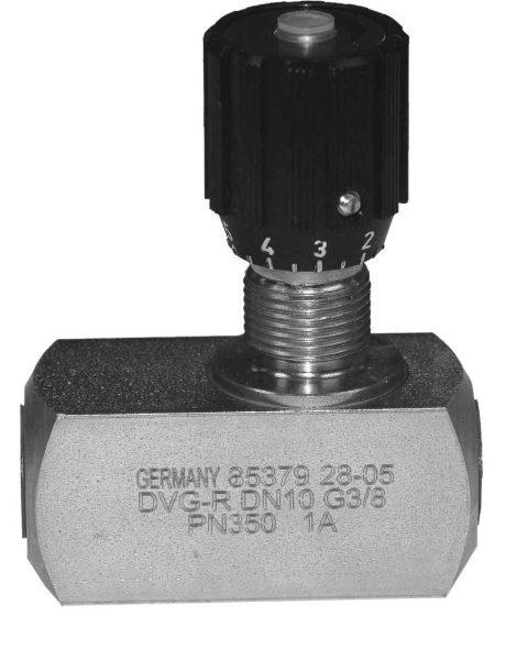 Hydraulic Inline Needle Valves (Uni-directional)