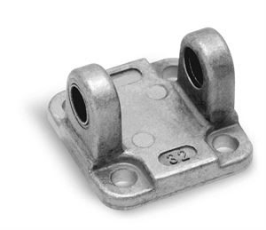 Rear Trunnion Female Mod. C for Series 31 Cylinders For Industrial Automation. Pneumatic Cylinder Mounting Accessory.