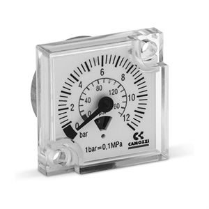 MX FRL Unit built-in pressure gauge