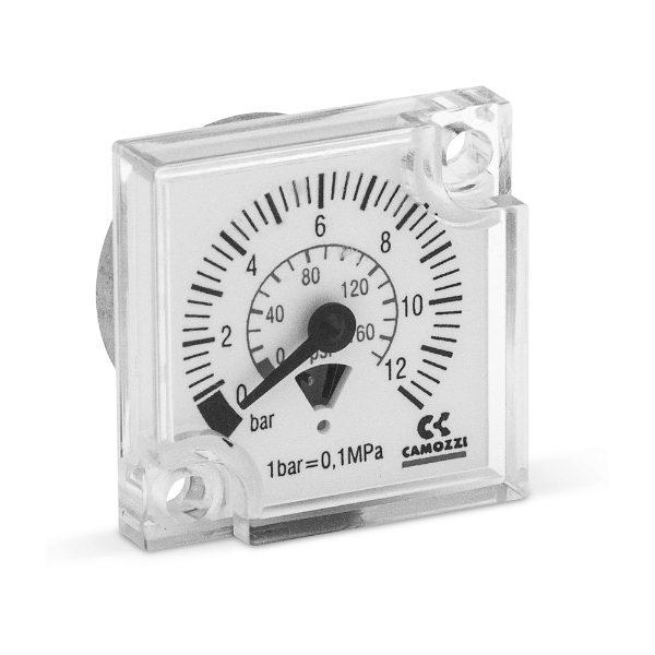 MX FRL Unit built-in pressure gauge
