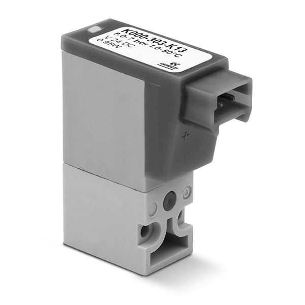Series K Directly Operated Mini-Solenoid Valves