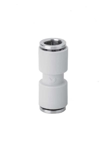 7580 Tube To Tube Connector Plastic Push In Fitting