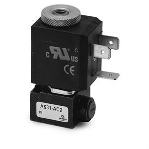 Series A Direct Operated Solenoid Valves - 16mm x 16mm 360° Rotatable