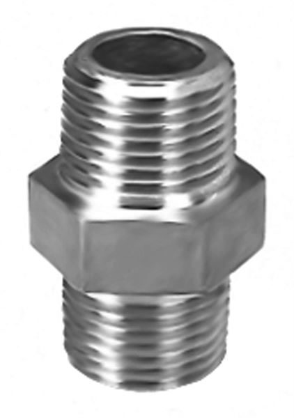 SS240 Equal Hexagon Nipple Stainless Steel Pipe Fitting