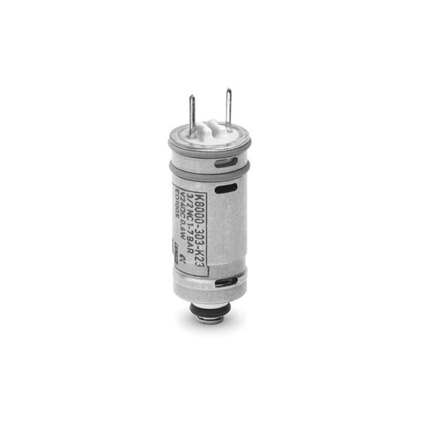 Series K8 Directly Operated Mini-Solenoid Valves available in 2/2 way and 3/2 way versions.
