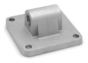 Rear Trunnion Male Mod. L for Series 40 & 41 Cylinders For Industrial Automation. Pneumatic Cylinder Mounting Accessory.