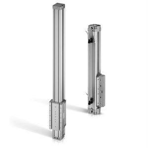 Rodless Pneumatic Cylinders For Industrial Automation